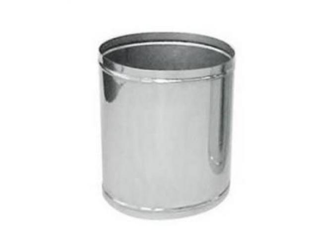 Lixeira de aço inox Friso