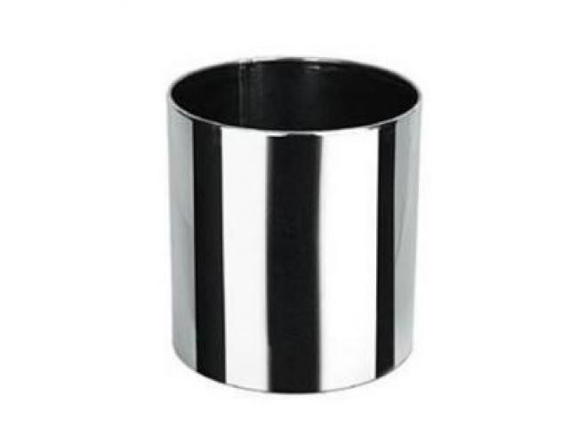 Lixeira de aço inox Liso
