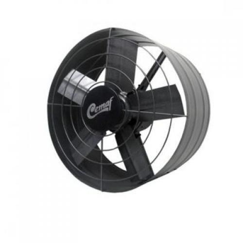 Exaustor 30 cm - Cemaf preto ou zincado