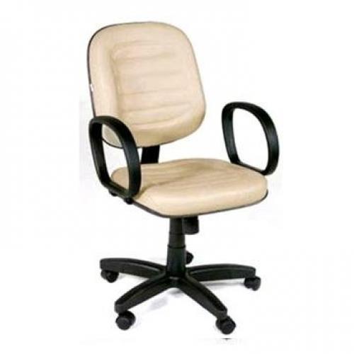 Cadeira diretor costurada giratória