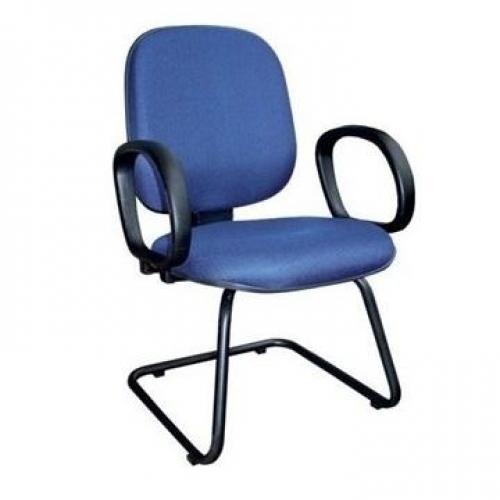 Cadeira diretor tecido ou corano liso base em