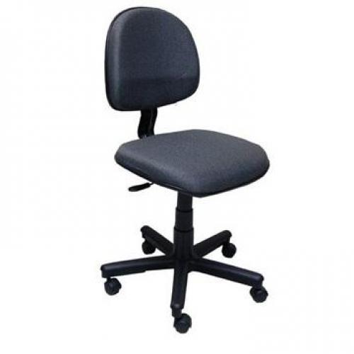 Cadeira executiva giratória sem braço corano ou tecido
