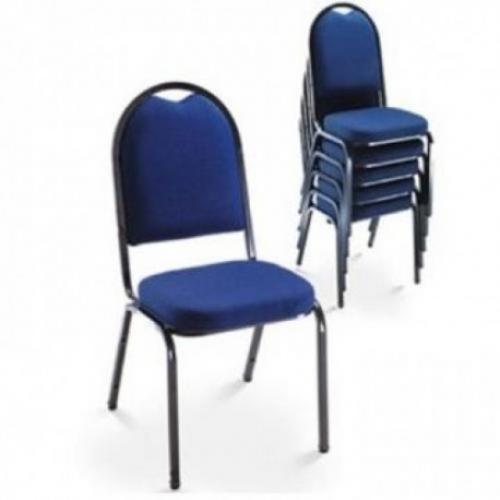 Cadeira secretária linha hotel azul