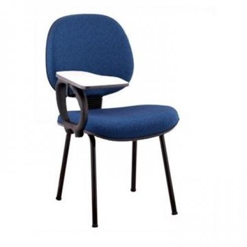 Cadeira Escolar executiva com braço e prancheta escamotiável