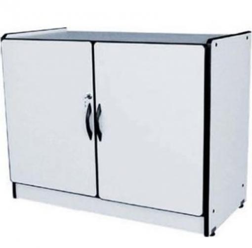 Aparador Relva Electrico ~ Armário baixo em MDF MDP 15mm 2 portas e prateleira Móveis para Escritório em Goi u00e2nia
