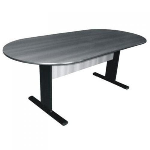 Mesa de reunião oval pé calha 2.00mtx080mt 25mm