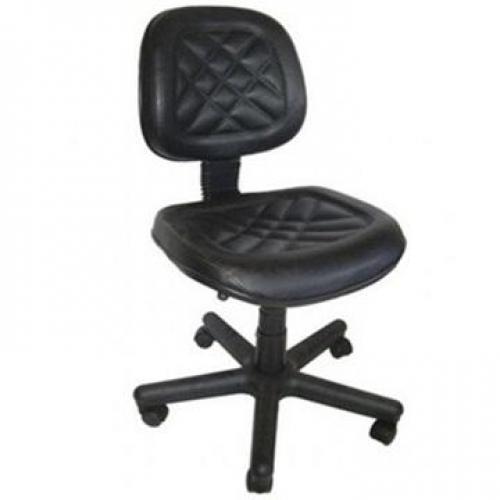 Cadeira Executiva Giratória Costurada Sem Braço