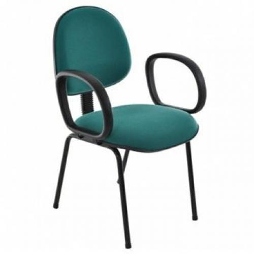 Cadeira executiva no tecido ou corano base pé palito