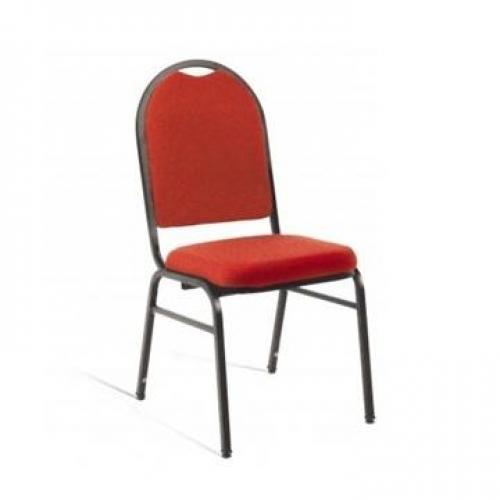 Cadeira secretária linha hotel vermelha