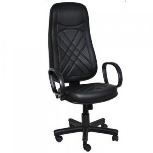 Cadeira Presidente Super com Costura e braço Corsa