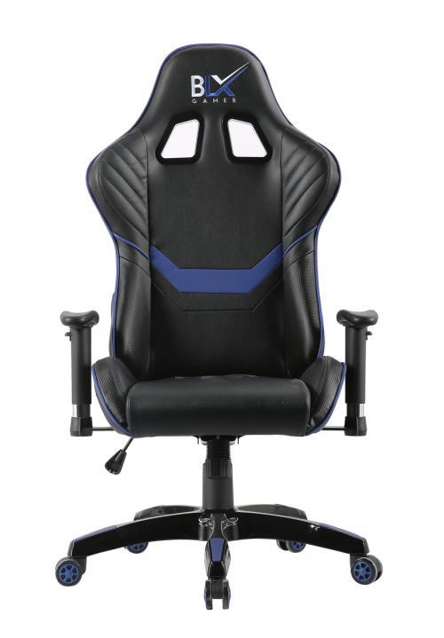 Cadeira Gamer BLX6009 Preta/Azul - 0221